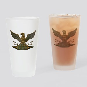 Roman Eagle in Copper Drinking Glass