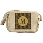 Olive Yeux Monogram Messenger Bag