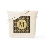 Olive Yeux Monogram Tote Bag