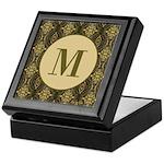 Olive Yeux Monogram Keepsake Box