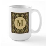 Olive Yeux Monogram Large Mug