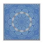 Bleuet Dentelle Calliope Tile Coaster