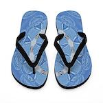Bleuet Dentelle Calliope Flip Flops