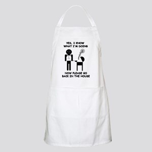 """""""Yes, I know what I'm doing..."""" Grilling Apron"""