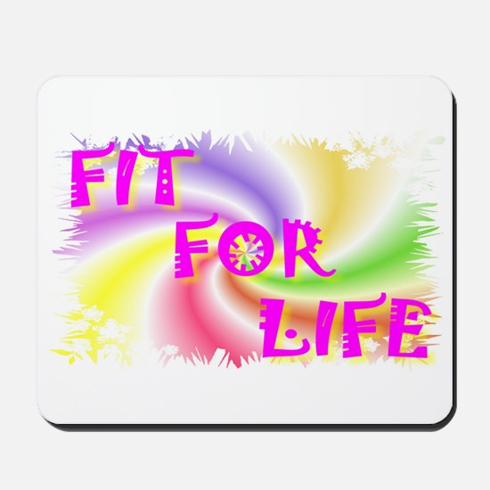 fit for life Mousepad
