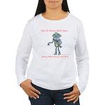 Women's Long Sleeve T-ShirtSharingisMore:DogsMusic