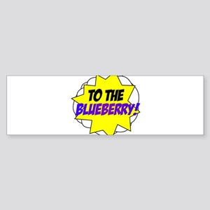 Psych, To The Blueberry! Sticker (Bumper)