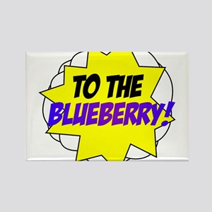 Psych, To The Blueberry! Rectangle Magnet