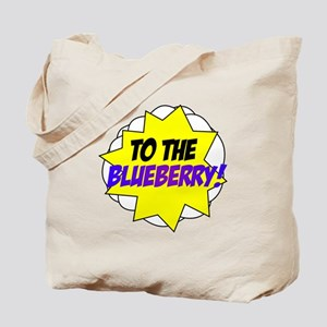 Psych, To The Blueberry! Tote Bag