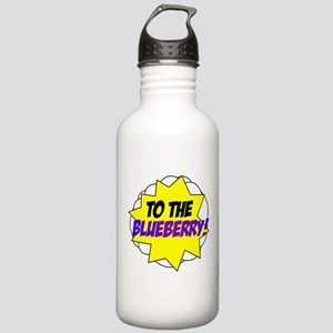 Psych, To The Blueberry! Stainless Water Bottle 1.