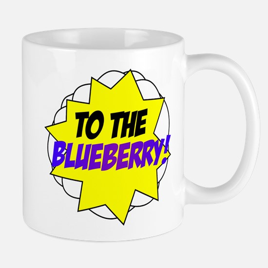 Psych, To The Blueberry! Mug