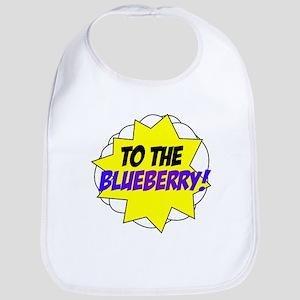 Psych, To The Blueberry! Bib