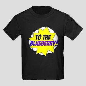 Psych, To The Blueberry! Kids Dark T-Shirt