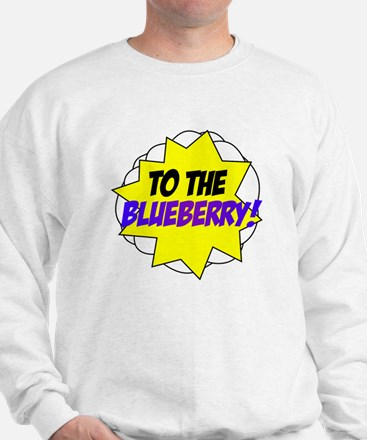 Psych, To The Blueberry! Sweatshirt