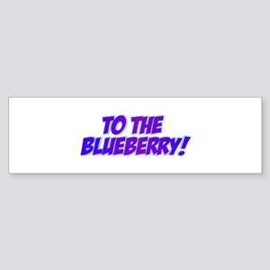 Psych, Blueberry! Sticker (Bumper)