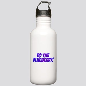 Psych, Blueberry! Stainless Water Bottle 1.0L