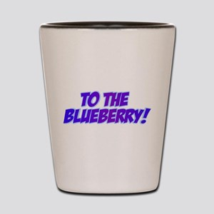 Psych, Blueberry! Shot Glass