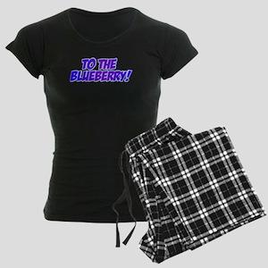 Psych, Blueberry! Women's Dark Pajamas