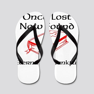once lost now found Flip Flops