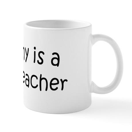 Mommy is a History Teacher Mug
