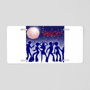 Disco Aluminum License Plate