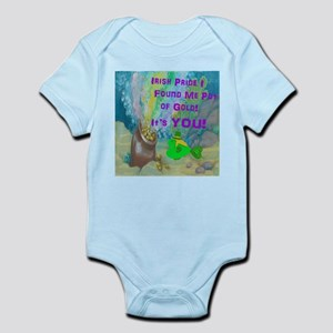 Irish Pride I Found Me Pot of Infant Bodysuit