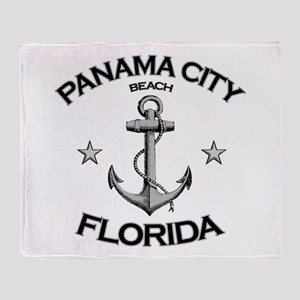 Panama City Beach, Florida Throw Blanket