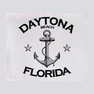 Daytona Beach, Florida Throw Blanket