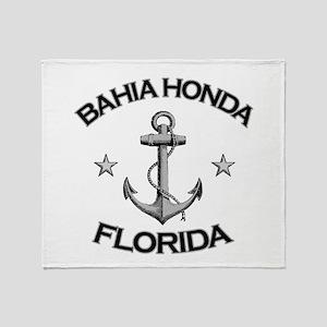 Bahia Honda, Florida Throw Blanket