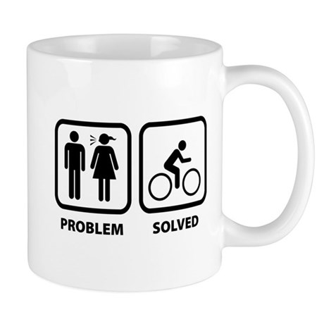 Problem Solved Cycling Mug