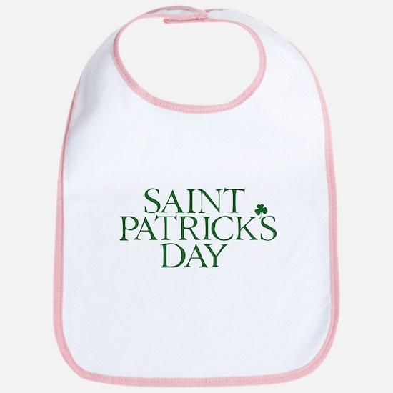 Saint Patrick's Day Bib