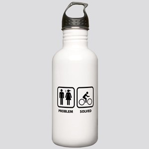 Problem Solved Cycling Stainless Water Bottle 1.0L