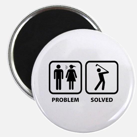 Problem Solved Golfing Magnet