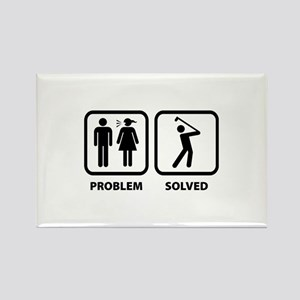 Problem Solved Golfing Rectangle Magnet