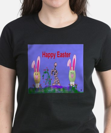 Easter Eggs Women's Dark T-Shirt