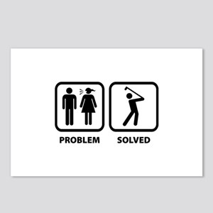 Problem Solved Golfing Postcards (Package of 8)