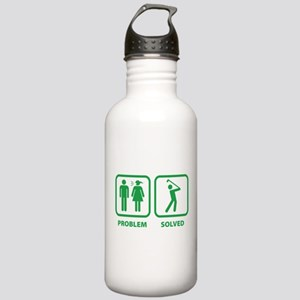 Problem Solved Golfing Stainless Water Bottle 1.0L