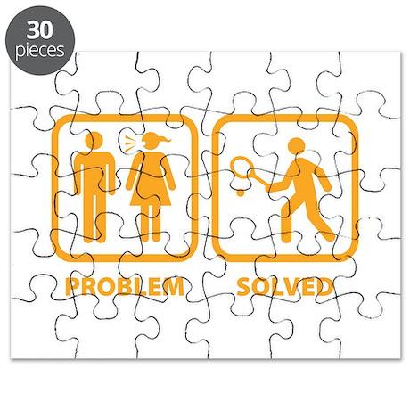 Problem Solved Tennis Puzzle