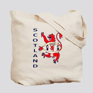 Scotland rugby flag Tote Bag