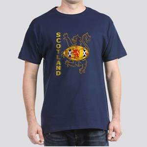 Scotland Rugby Designs Dark T-Shirt
