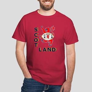 Scotland Rugby Player Dark T-Shirt