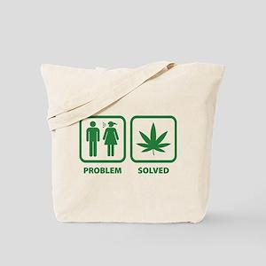 Problem Solved Weed Tote Bag