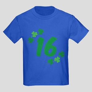 16th Irish Birthday Kids Dark T-Shirt