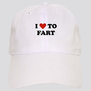 I Love To Fart Cap
