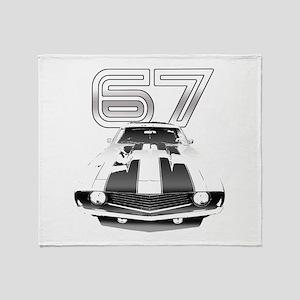 1967 Camaro Throw Blanket