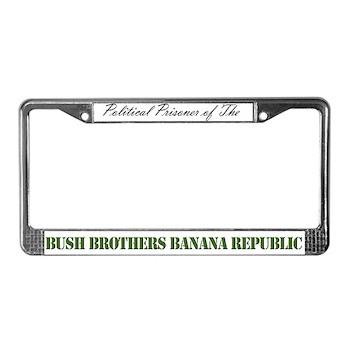 POLITICAL PRISONER License Plate Frame