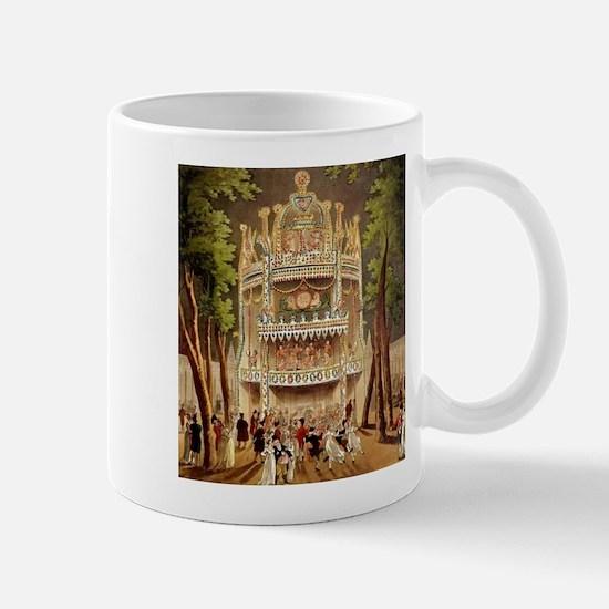 Vauxhall Gardens 1809 Mug