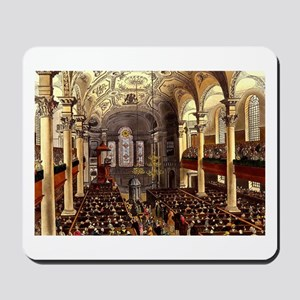 St Martins in the Fields 1809 Mousepad