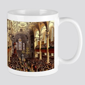 St Martins in the Fields 1809 Mug