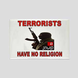 TERRORIST USA Rectangle Magnet